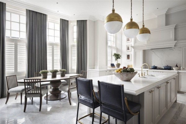 Кухня/столовая в  цветах:   Бежевый, Коричневый, Светло-серый, Серый.  Кухня/столовая в  .