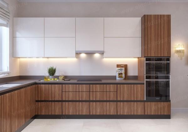 Кухня/столовая в  цветах:   Бордовый, Коричневый, Светло-серый, Темно-коричневый.  Кухня/столовая в  стиле:   Неоклассика.
