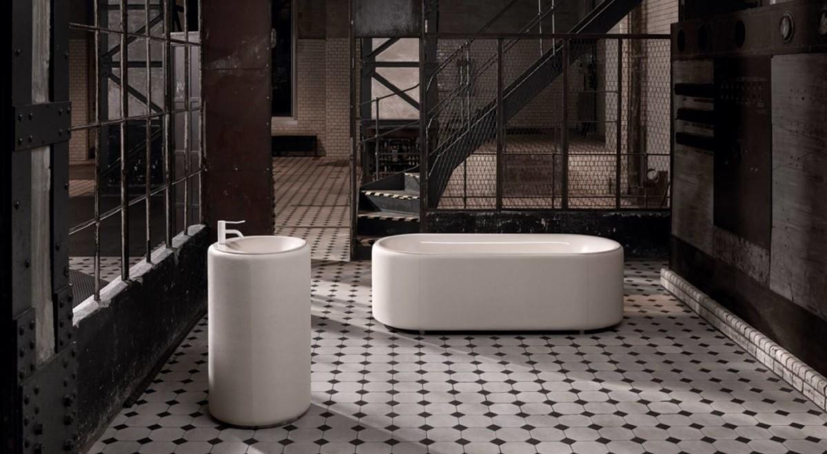 Современная и яркая коллекция для ванной комнаты была представлена публике
