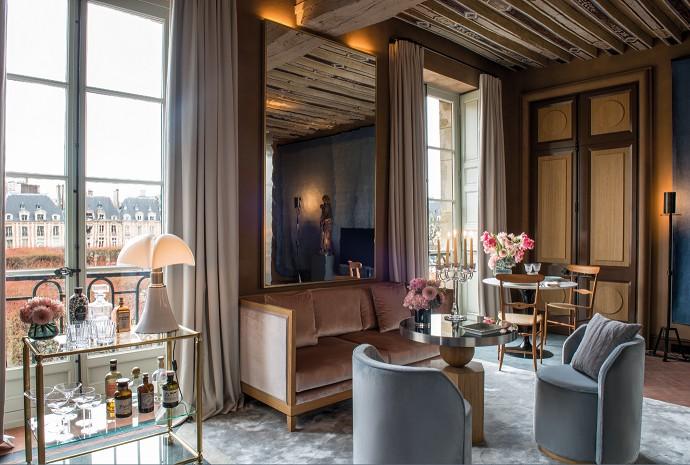 В центре Парижа открылся отель Cour des Vosges