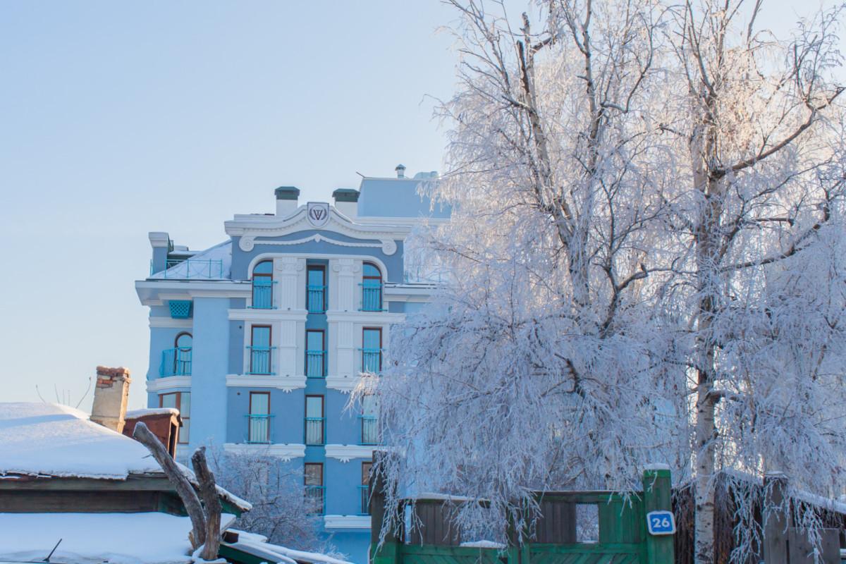 Два российских фасада были высоко оценены среди европейских