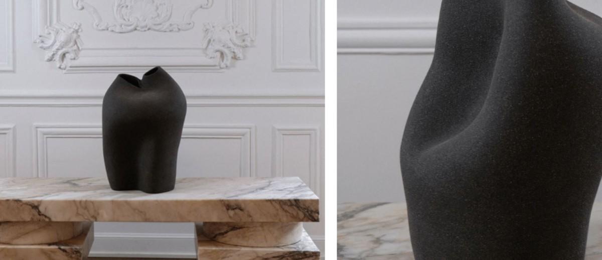 Вазы из песчаника от дизайнера Стефани Лангард