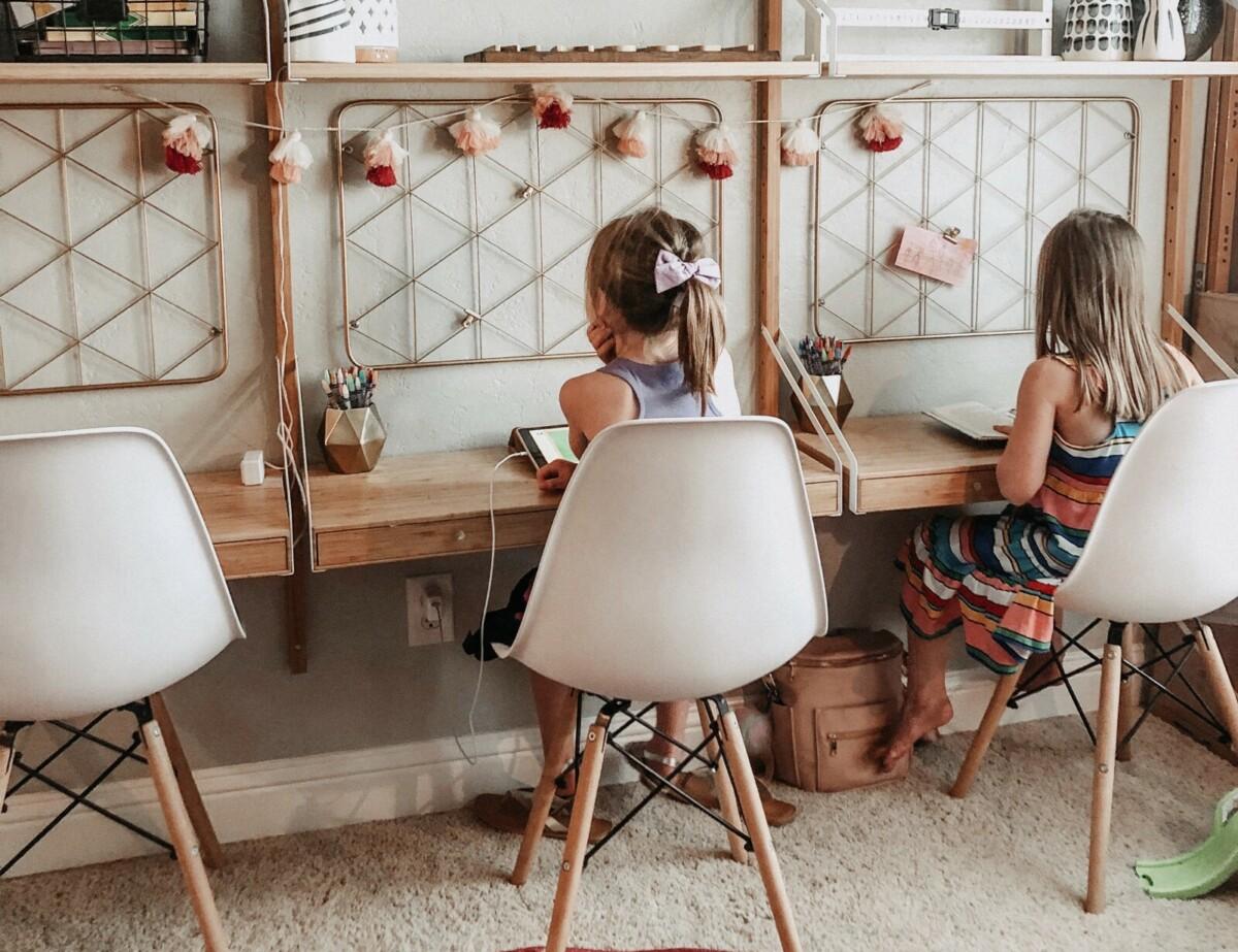 Рабочее место для школьника в 4 простых шага: советы дизайнера