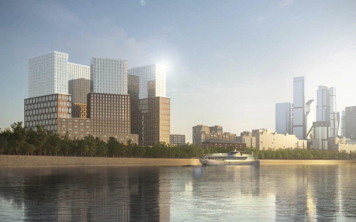 В Москве на Причальном проезде построят новый жилой комплекс