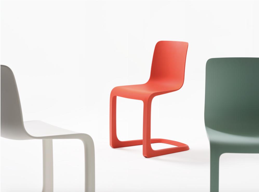 Vitra выпускает консольный стул от Джаспера Моррисона