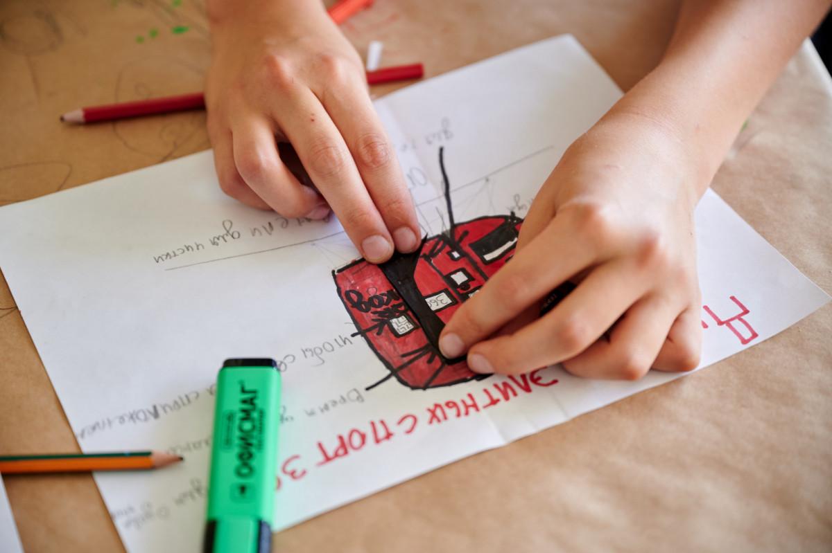 Компания Roca Group подвела итоги работы лагеря, где подростки создавали дизайнерские решения